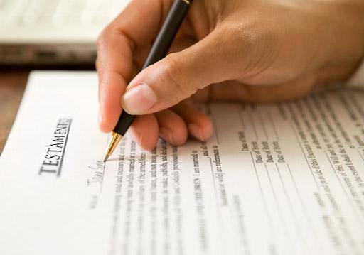 Tipos de testamentos y herencias